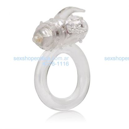 Anillo con vibro transparente One Touch