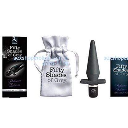 Fifty Shades of Grey Vibrating Butt Plug